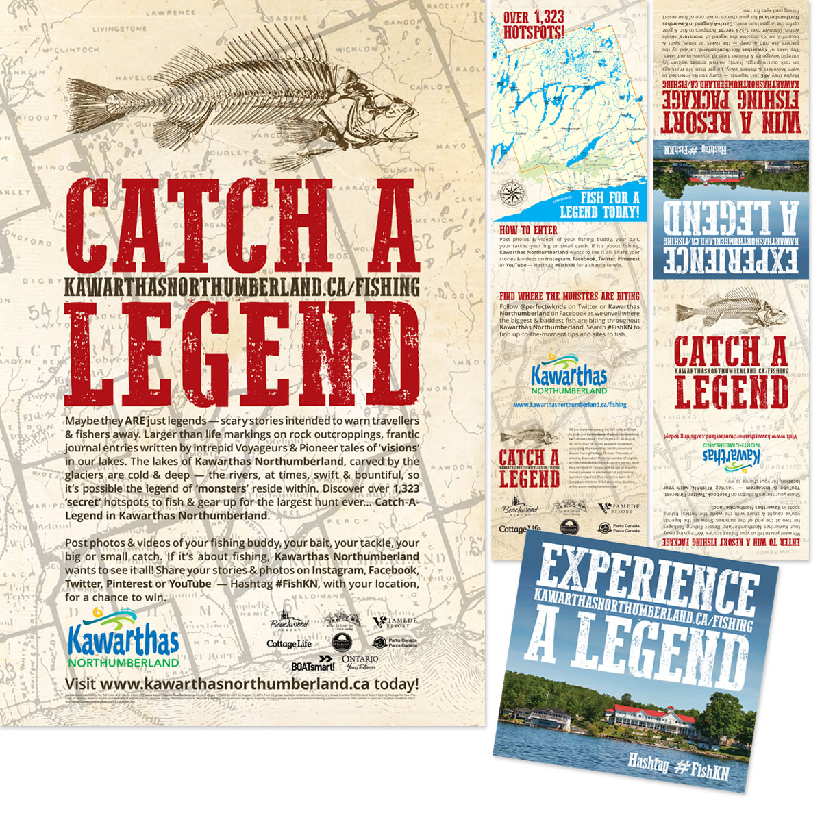 Kawarthas Northumberland - Catch A Legend - Print