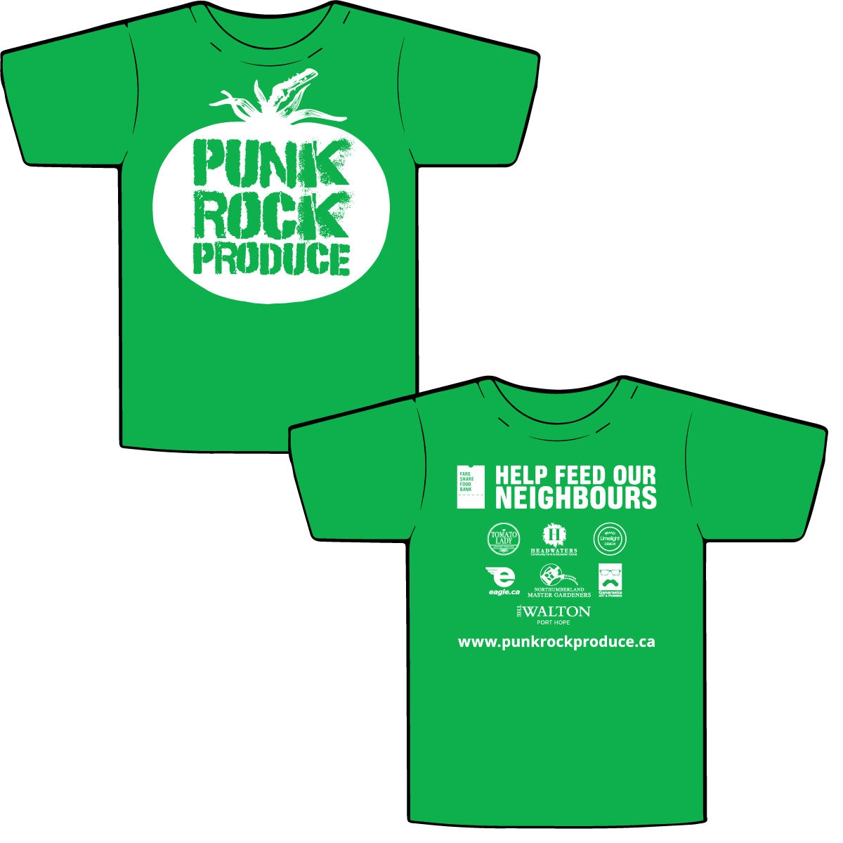 Punk Rock Produce T-shirt